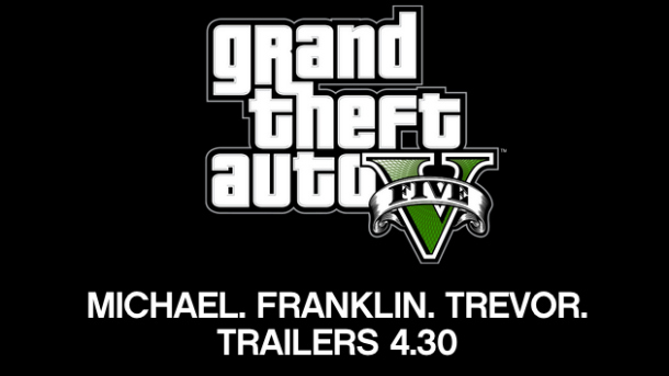 New Grand Theft Auto V Trailer Coming April 30th