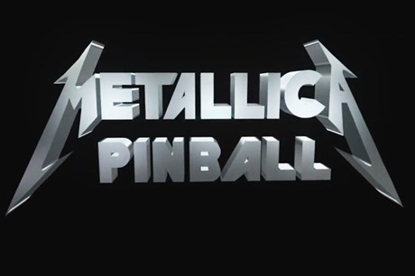 Metallica Have Their Own Pinball Game
