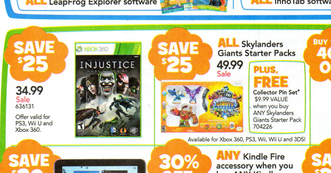 Get Injustice: Gods Among Us for Only $34.99 This Week