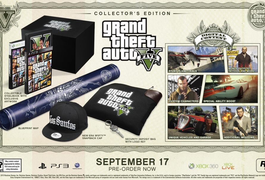 Grand Theft Auto V: Special and Collector's Edition Detailed