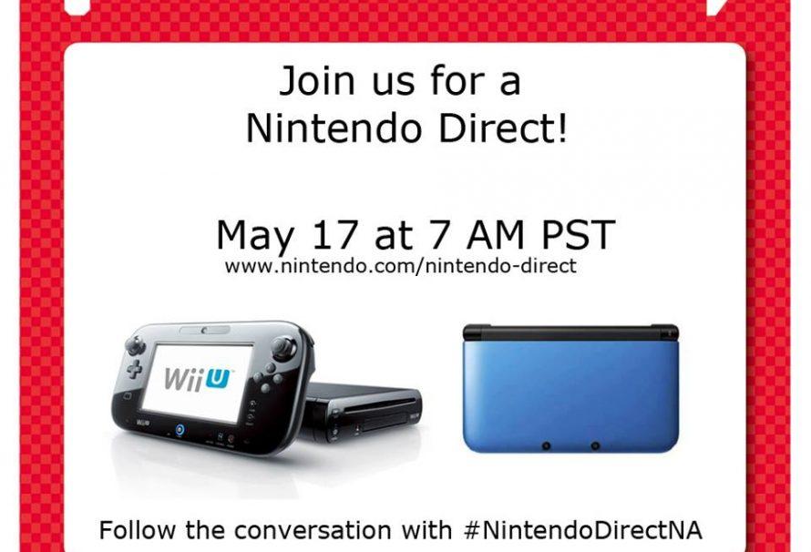 Nintendo Direct presentation scheduled for tomorrow