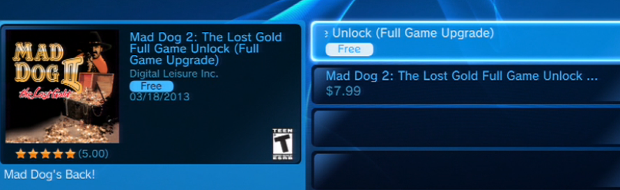 How to Get Mad Dog II: The Lost Gold for Free on the PSN