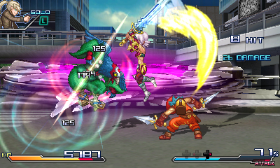 Project X Zone 01