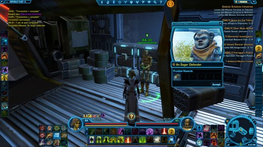 SWTOR Game Update 2.3 Treek Ewok