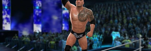 WWE 2K14 Gameplay The Rock