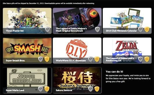 Club Nintendo Elite Rewards for 2013 Detailed