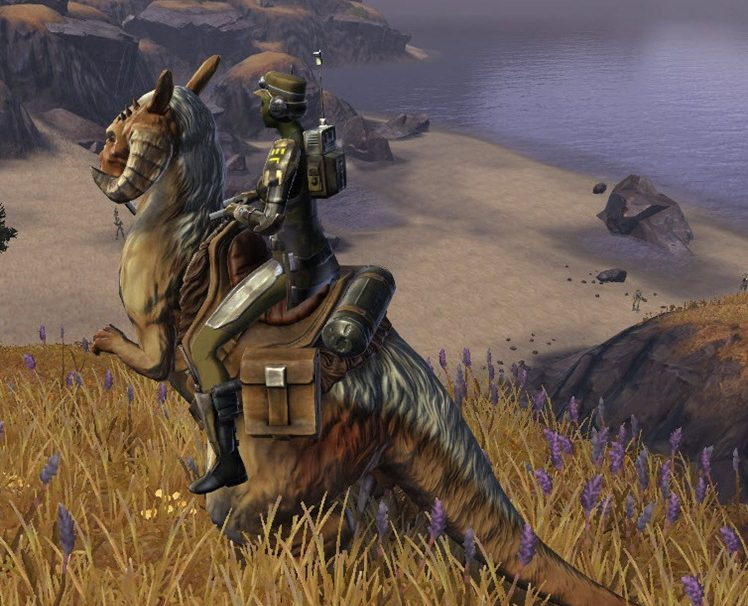 SWTOR finally getting the 'Tauntaun' mount