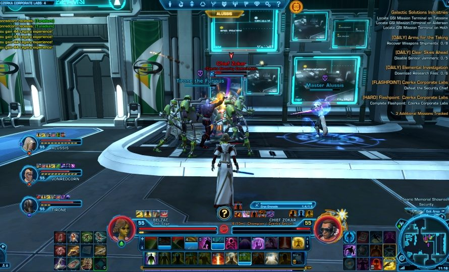 SWTOR Game Update 2.3 – Czerka Corporate Labs HM Guide