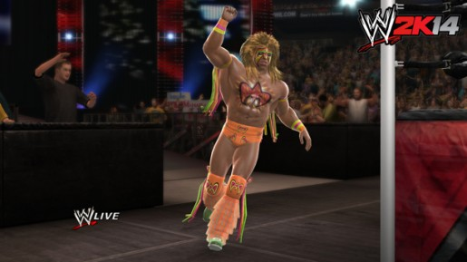ultimate warrior in wwe 2k14