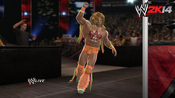 Ultimate Warrior Somewhat Still Playable If You Don't Pre-Order WWE 2K14