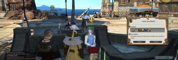 Final Fantasy XIV – How to Dye Your Own Gear