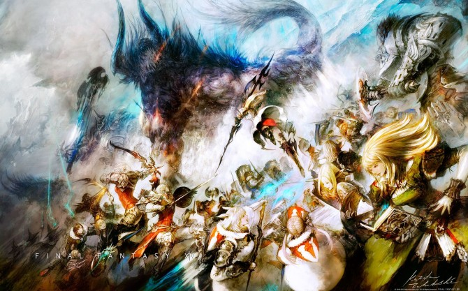 final fantasy xiv gives out free ps3 and windows theme