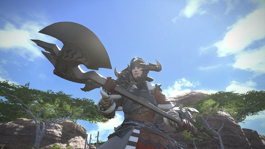 ff14 warrior - photo #42