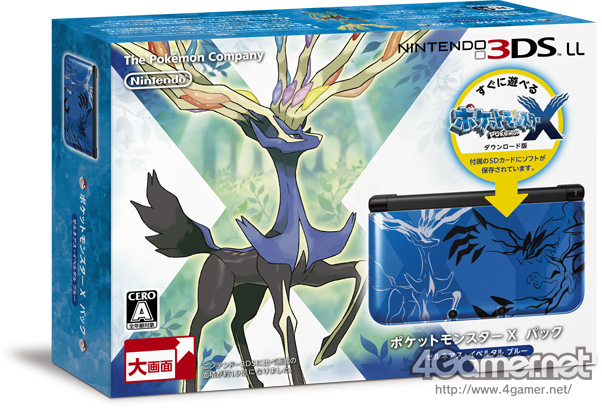 X and Pokemon Y Limited Edition bundles announced