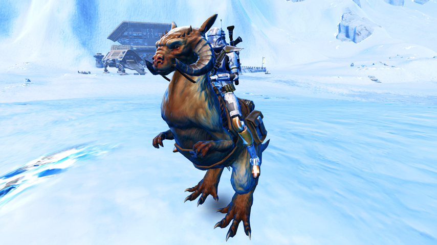 SWTOR Guide – How to get your very own Tauntaun mount