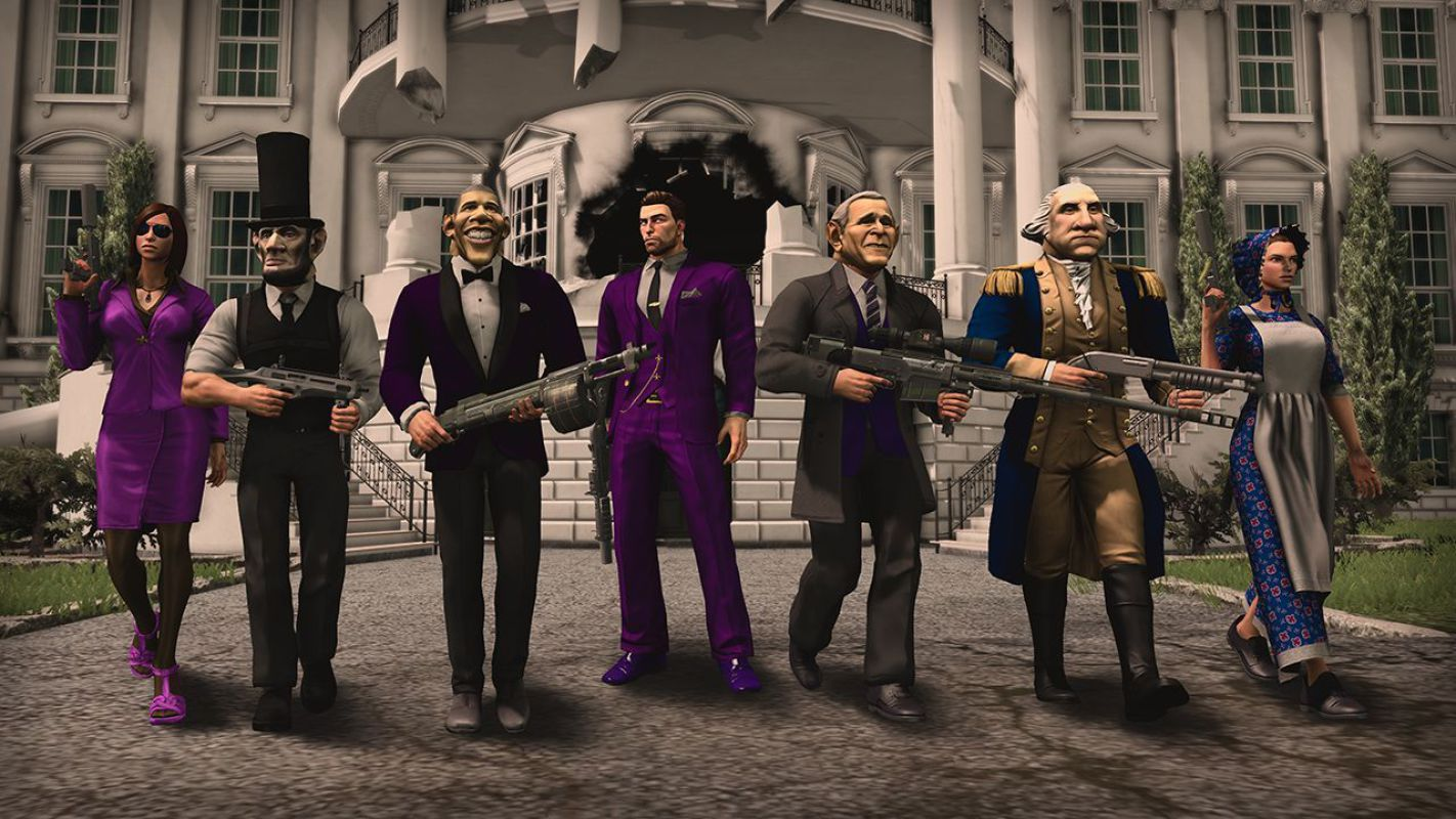 Saints Row 4 Presidential And Grass Roots Dlc Now