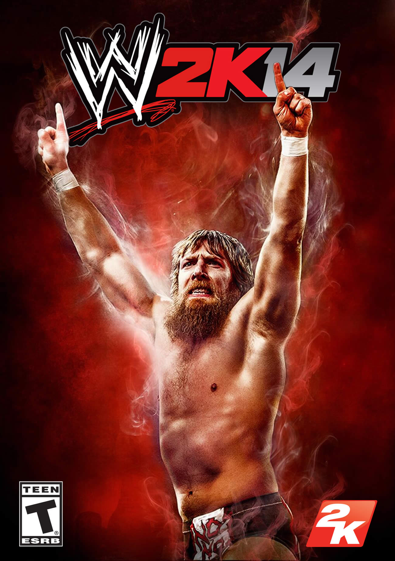 Daniel Bryan WWE 2K14 Cover