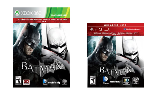 Batman Arkham Bundle compiles two Arkham games in one