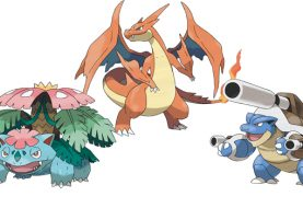 Pokemon X and Pokemon Y gives original starters Mega Evolutions