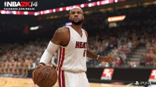 lebron james nba 2k14 ps4