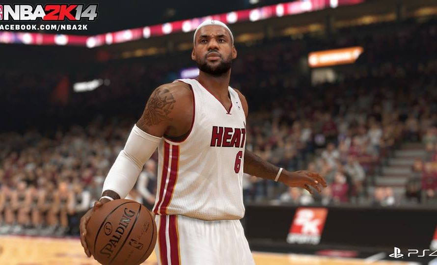Jordan vs LeBron NBA 2K14 Gameplay