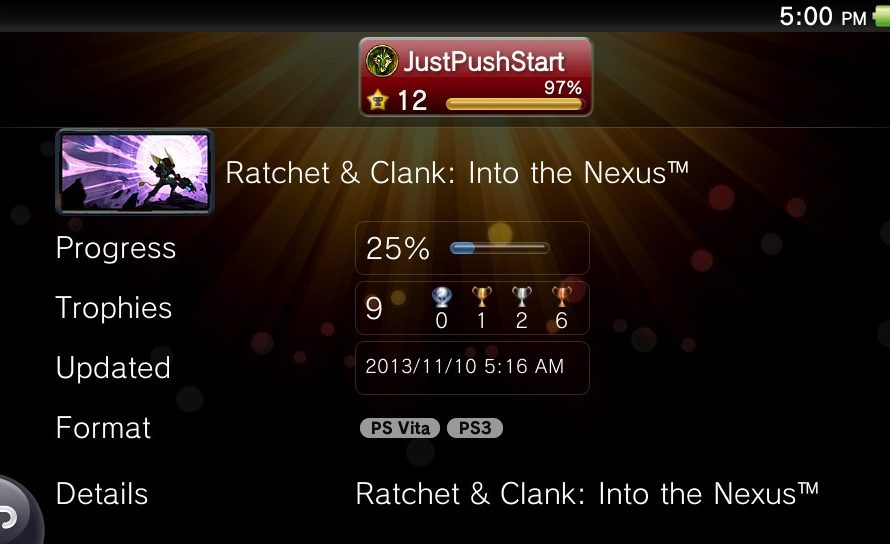 Ratchet & Clank: Into the Nexus on the PS Vita looks very likely