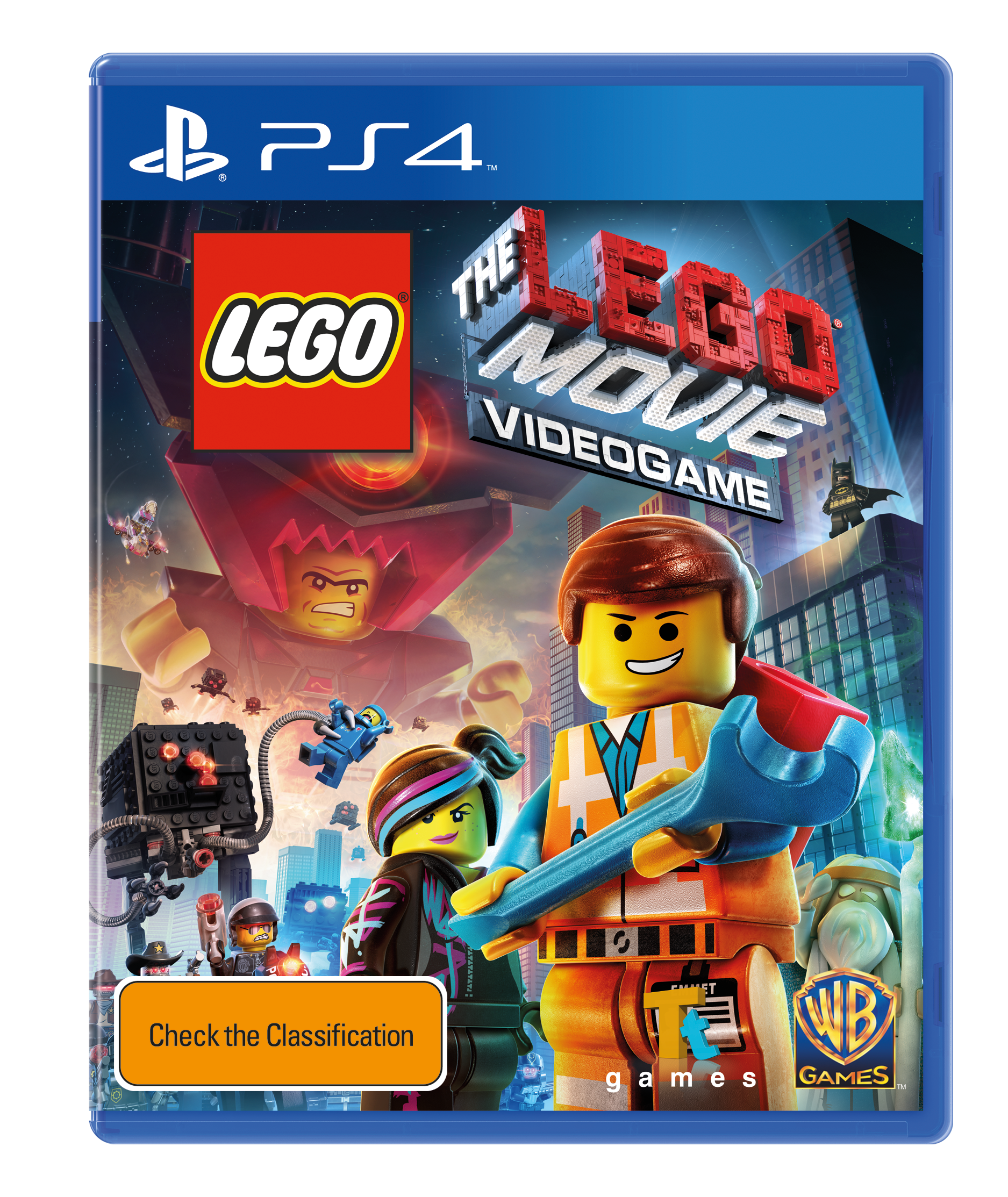 The LEGO Movie Videogame Box Art Unveiled
