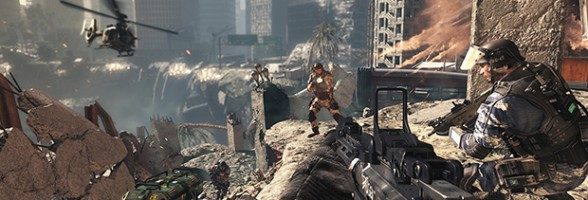 Double XP For Call of Duty: Ghosts Fires This Weekend