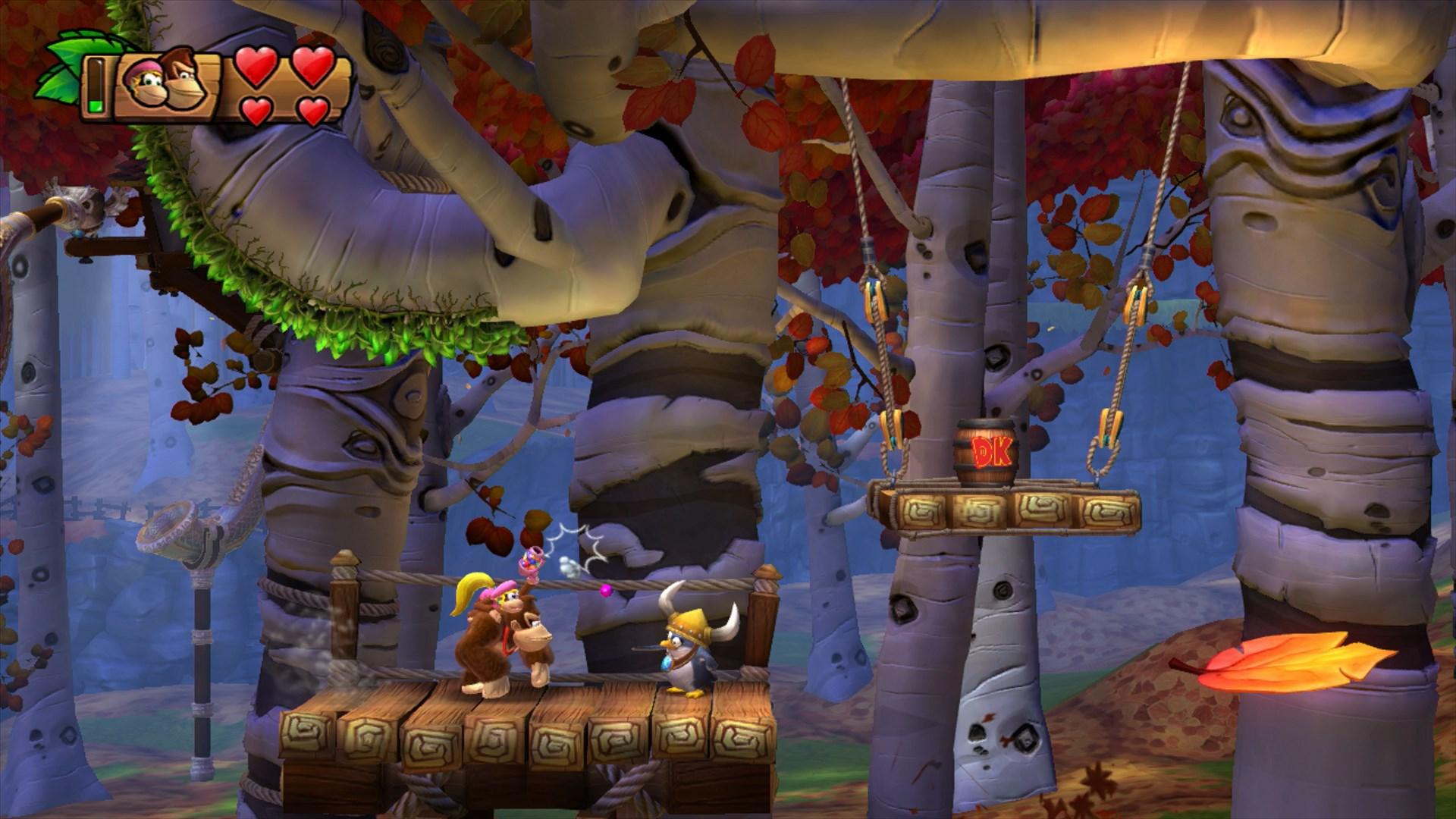 Donkey Kong Country Tropical Freeze Screenshot 5 - Just ...