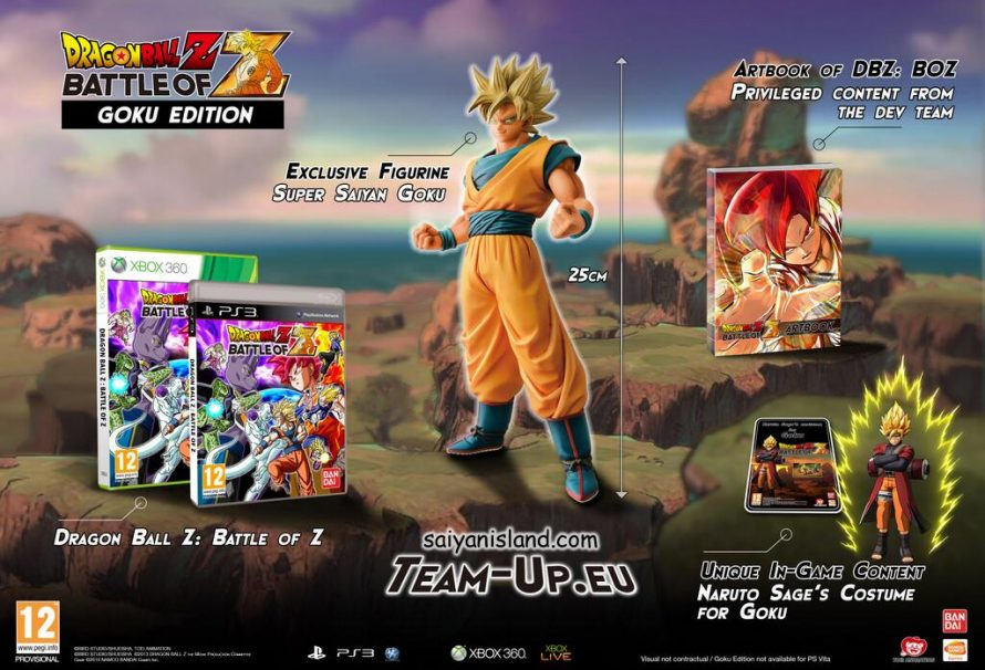 Dragon ball z battle of z goku edition announced voltagebd Image collections
