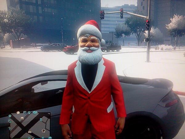 Grand Theft Auto Online Receives Festive Update - Just Push Start
