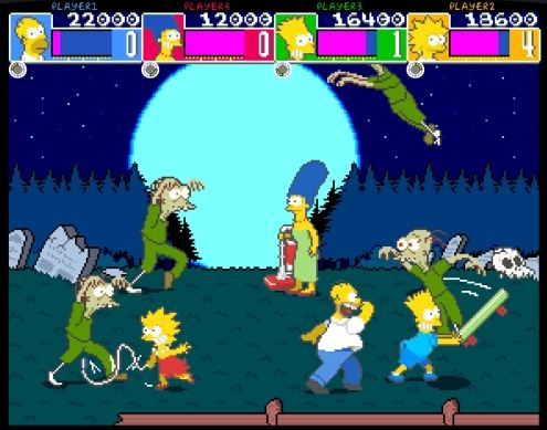X-Men and The Simpsons Arcade Game have been removed from PSN