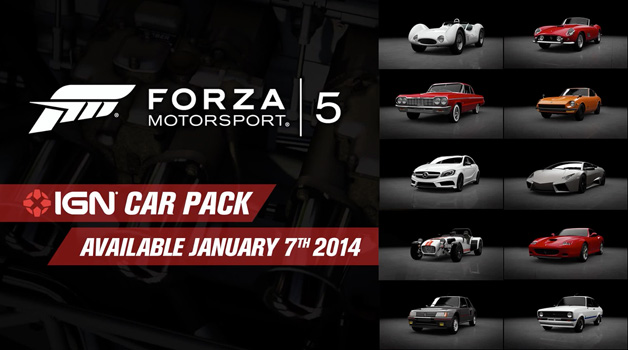 Forza Motorsport 5 IGN Car Pack Shown Off In Trailer