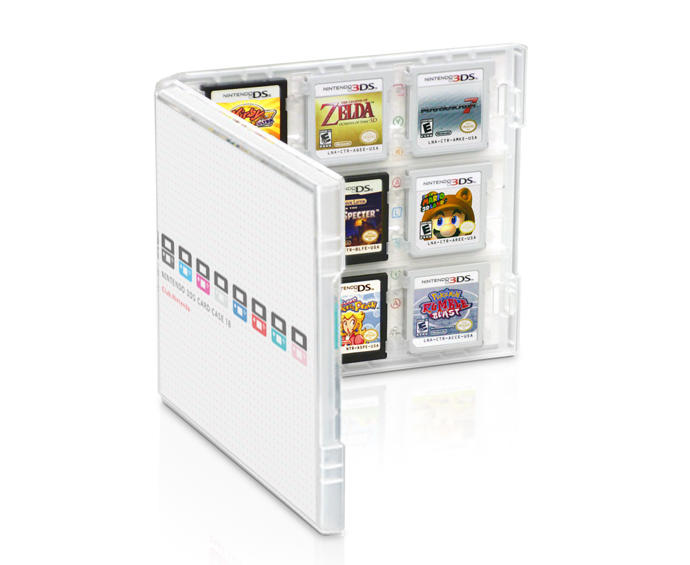 Nintendo 3ds Game Card : Club nintendo game card cases for ds back in stock