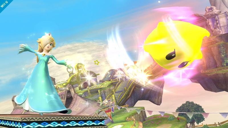 Super Smash Bros. Shows Off Luma Shot In Latest Daily Image