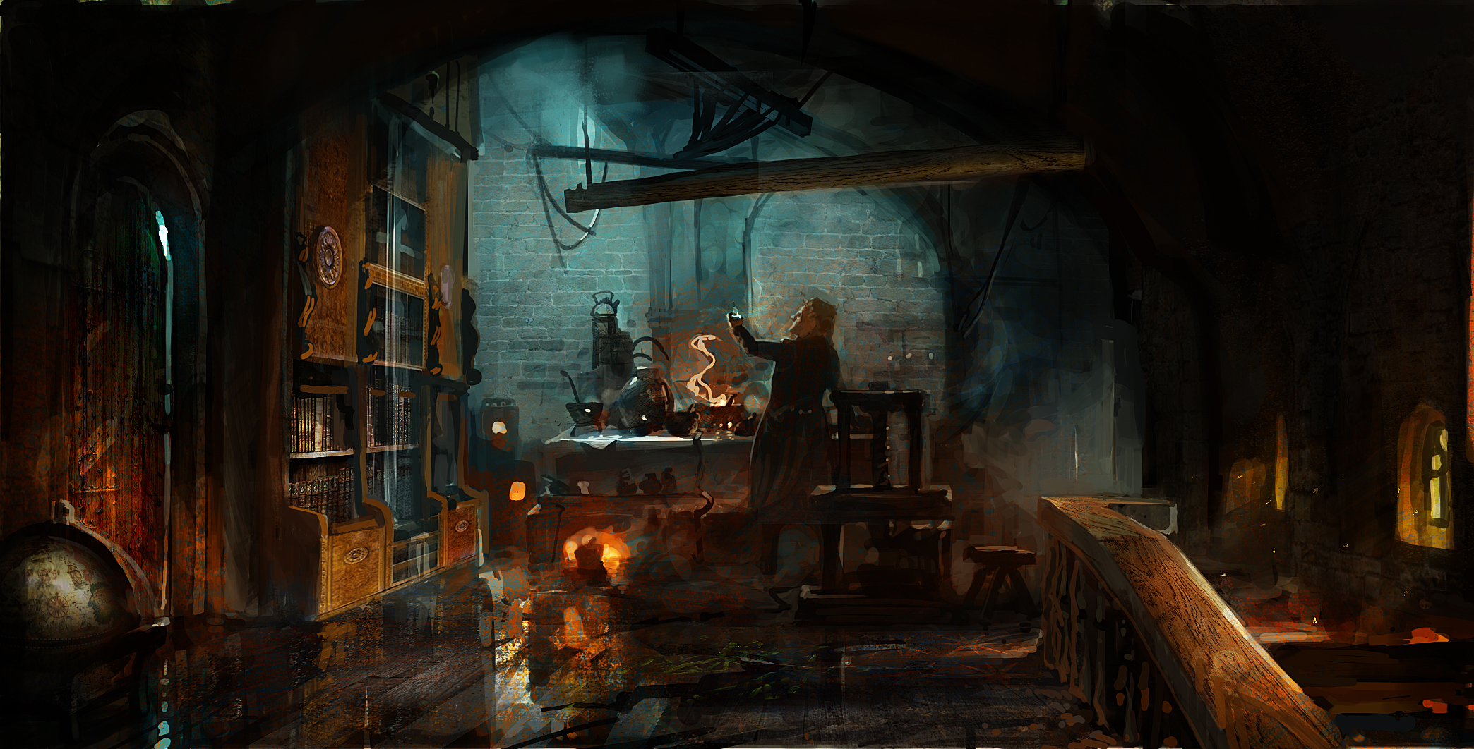 fantasy alchemist lab arts houston