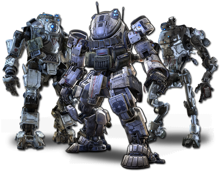 there are only three titans in titanfall launch