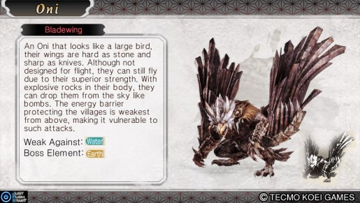 Toukiden- Blade Wing V2