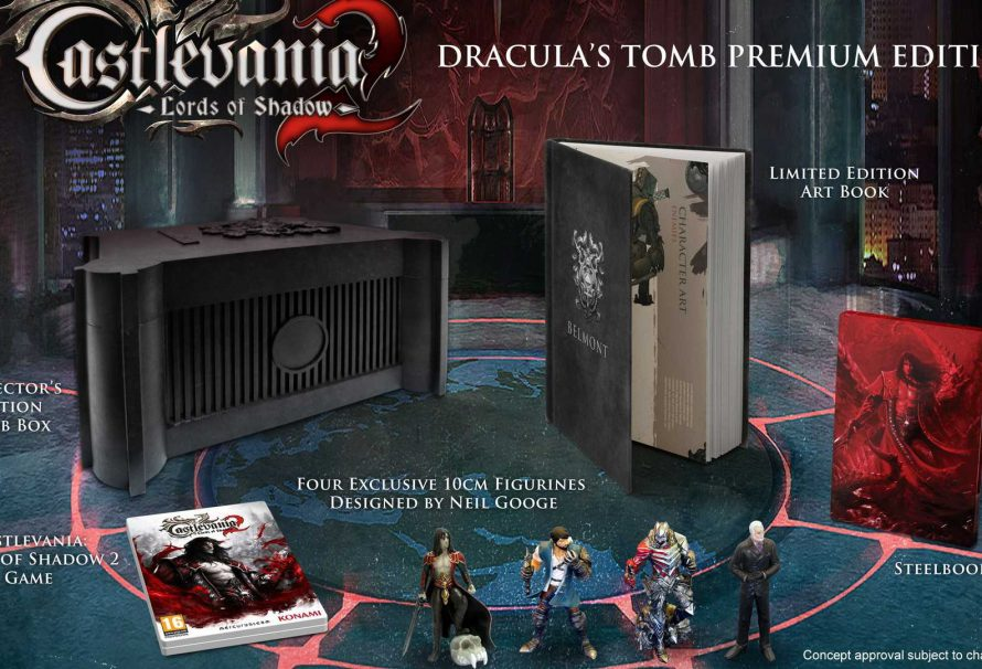 Castlevania: Lords of Shadow 2-Dracula's Tomb Unboxing