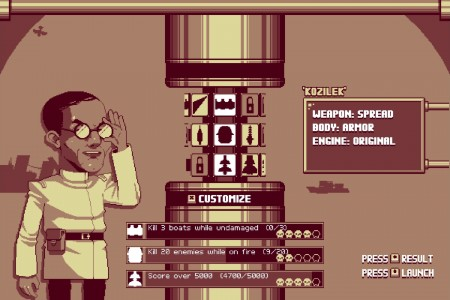 LUFTRAUSERS screen 2