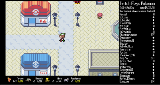 twitch plays pokemon starts anew in the hoenn region. Black Bedroom Furniture Sets. Home Design Ideas
