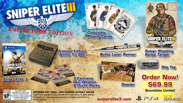 Sniper Elite 3 just received a release date and some pre-order bonuses ...