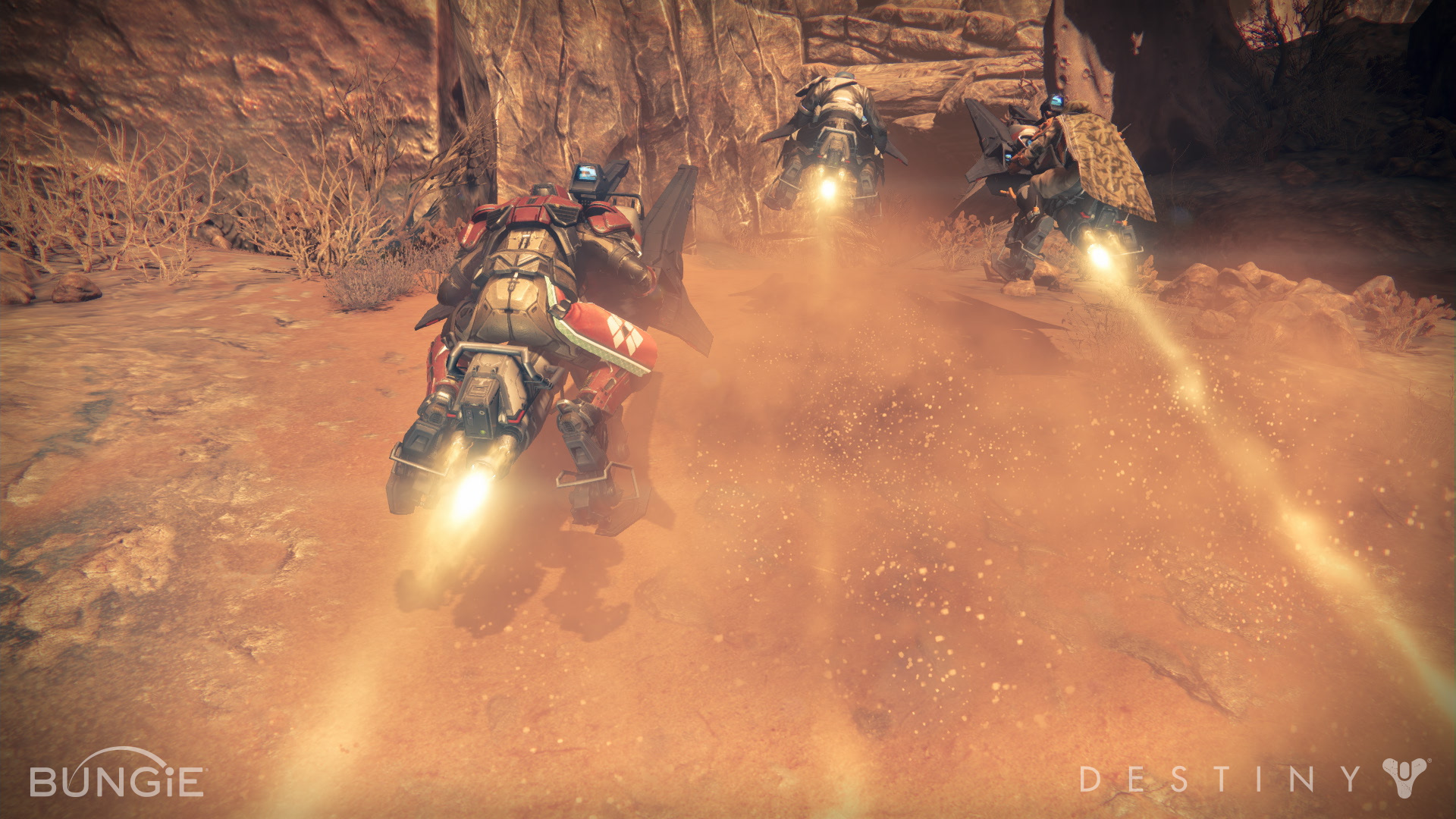 Has released four brand new screenshots of bungie s next title