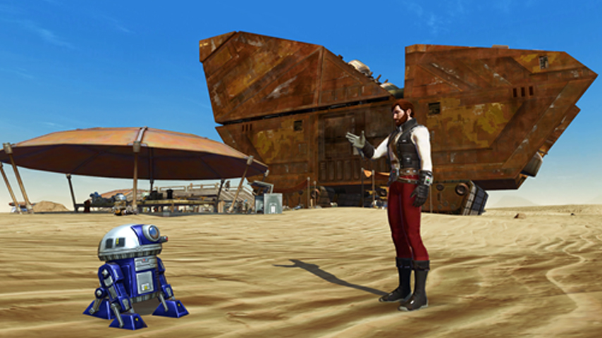 "SWTOR celebrates ""May the Fourth"" by giving out a new mini-pet"