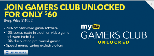 Best Buys 100 Game Discount Program Dropping to