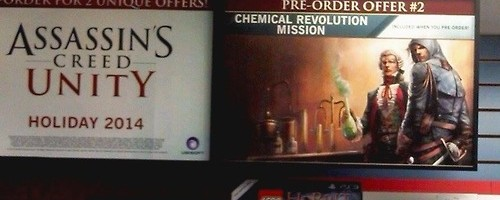 Assassin's Creed Unity Pre-order Outed By Poster