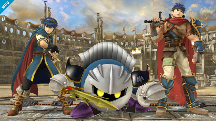 Meta Knight joins the fight in the new Super Smash Bros.