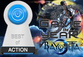Best Action Game of 2014 -- Bayonetta 2