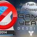 Most Disappointing Game of 2014 — Destiny