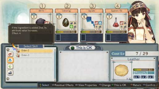 atelier shallie synthesis